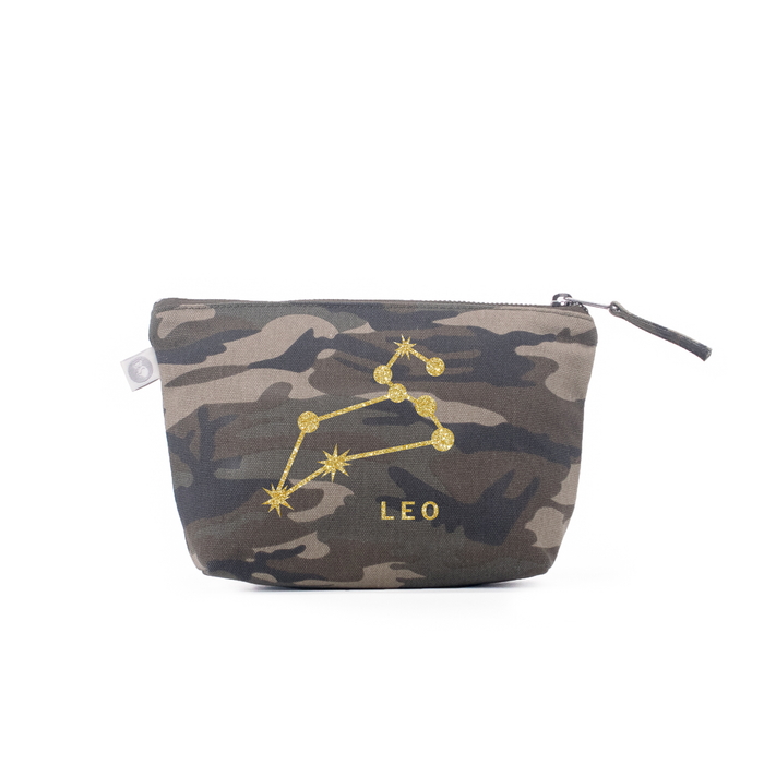 Zodiac Sign: Makeup Bag  - Leo