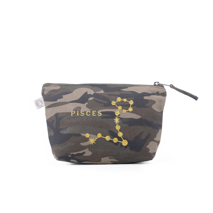 Zodiac Sign: Makeup Bag  - Pisces