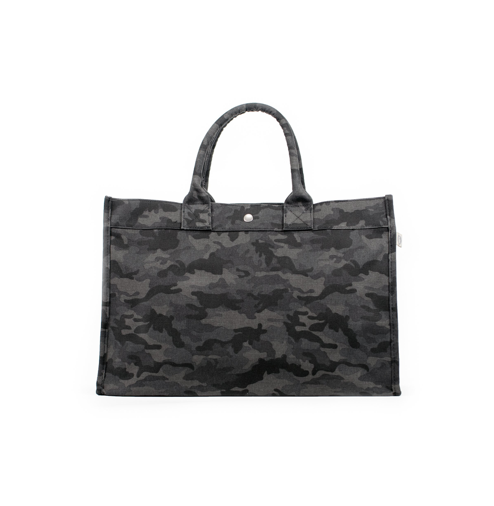 d9b15cba3c6a East West Bag  Black Camouflage – Quilted Koala