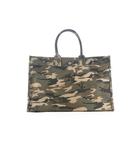 East-West Bag: Camouflage