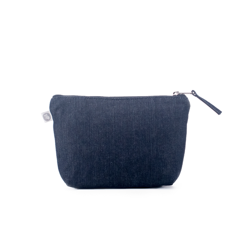Makeup Bag: Denim