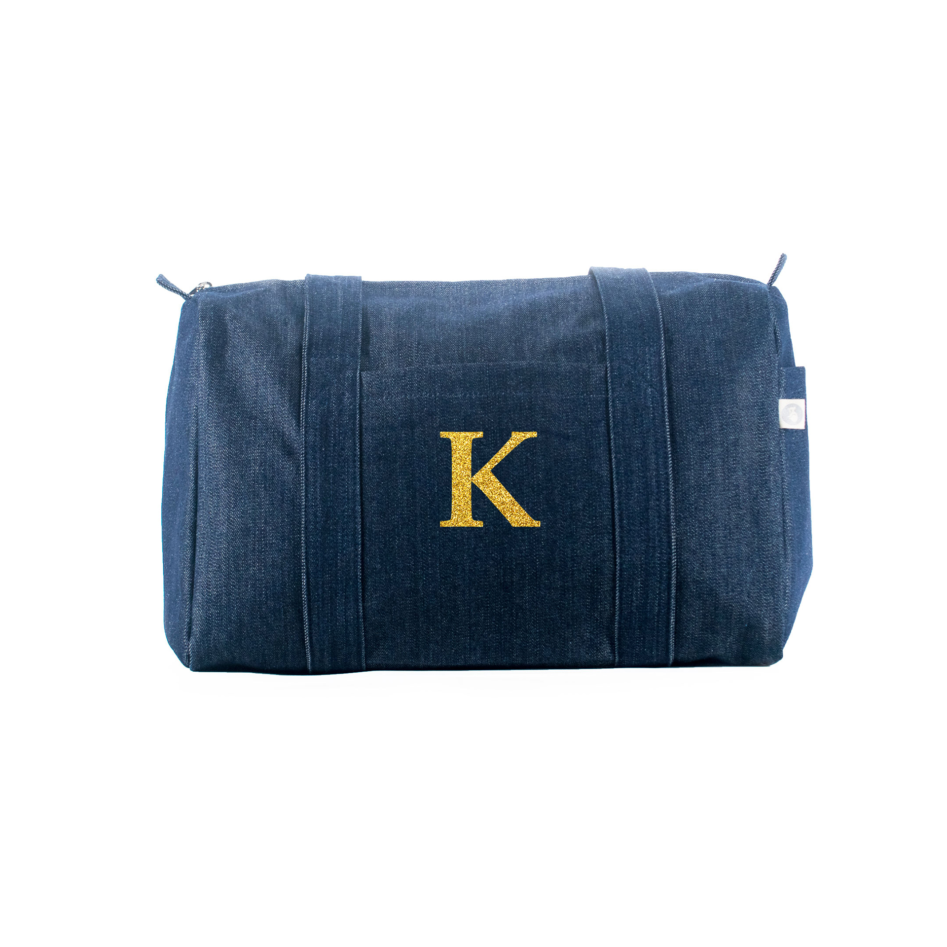Small Denim Duffel: Monogram  Just $50.40 with code HOLIDAY