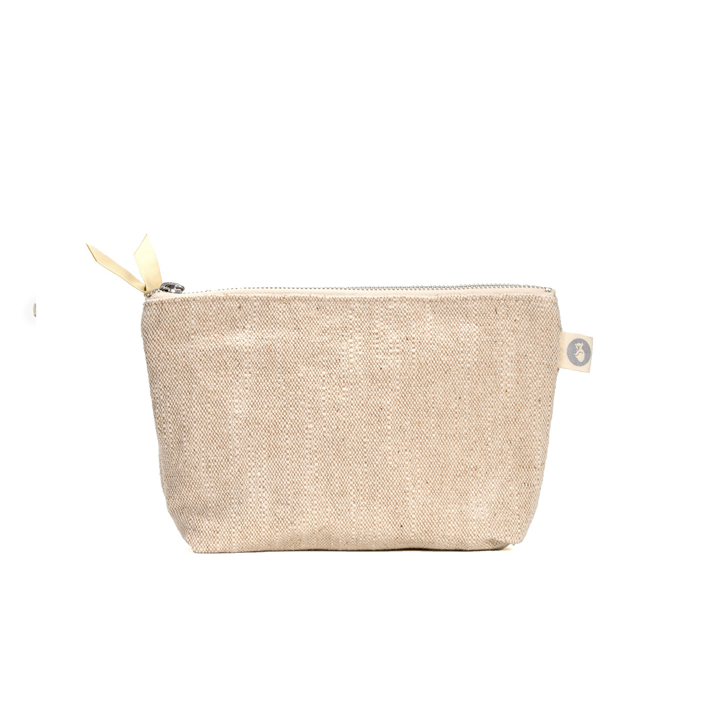 Makeup Bag: Flax