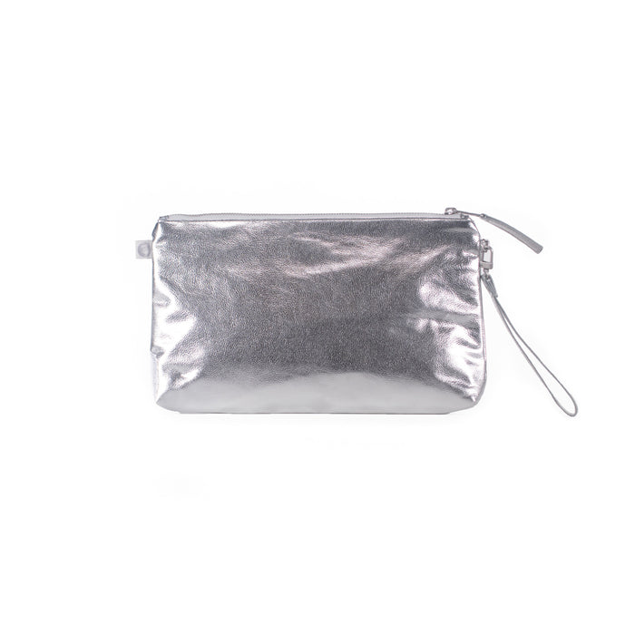 Set of 2 Luxe Clutch with Wristlet: Jet Engine