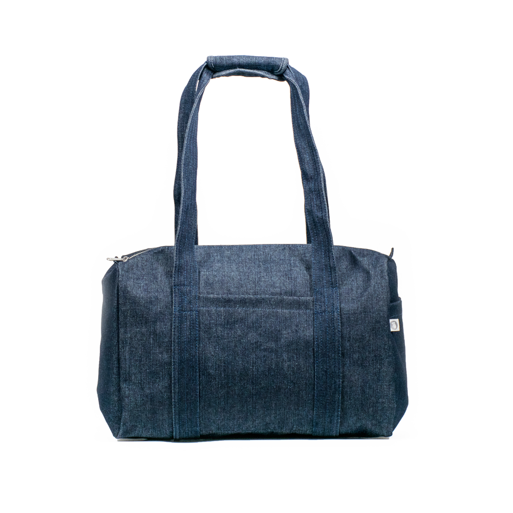 Small Denim Duffel
