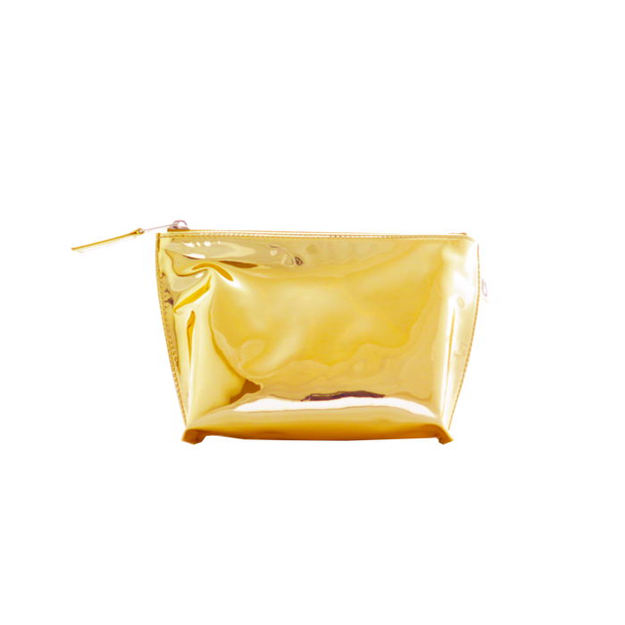 Makeup Bag: 24K Gold