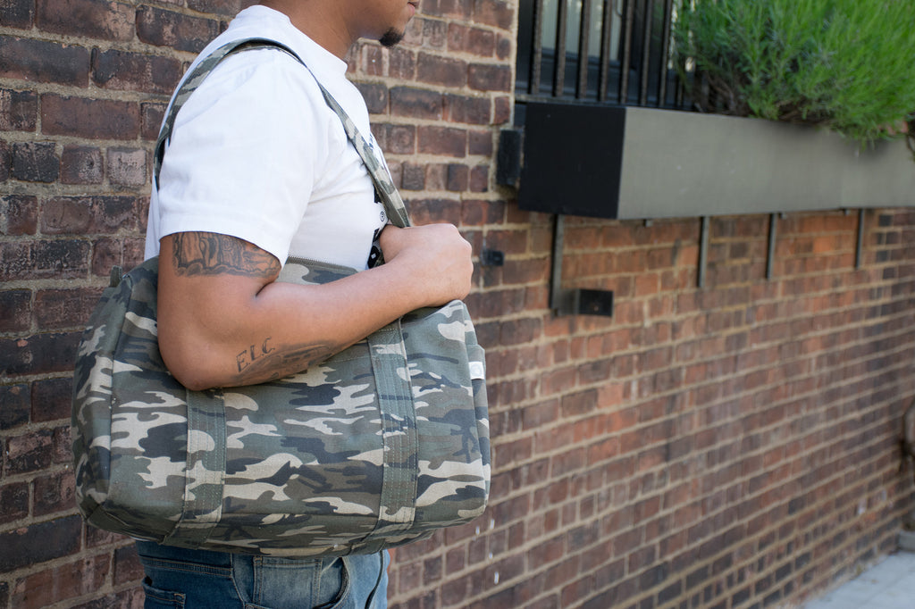 Small Duffel: Camouflage - Perfect for Him!