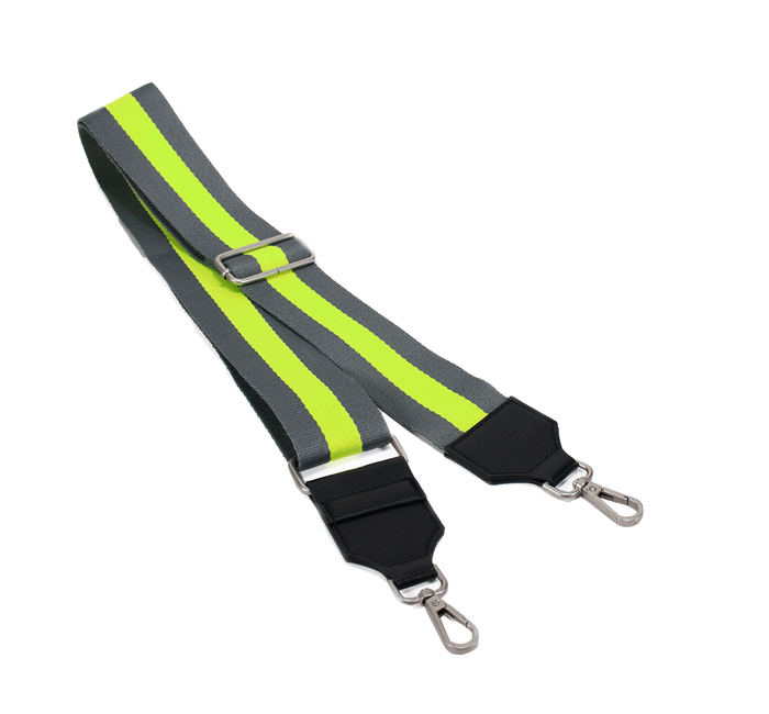 Koala Straps: Grey & Neon Yellow
