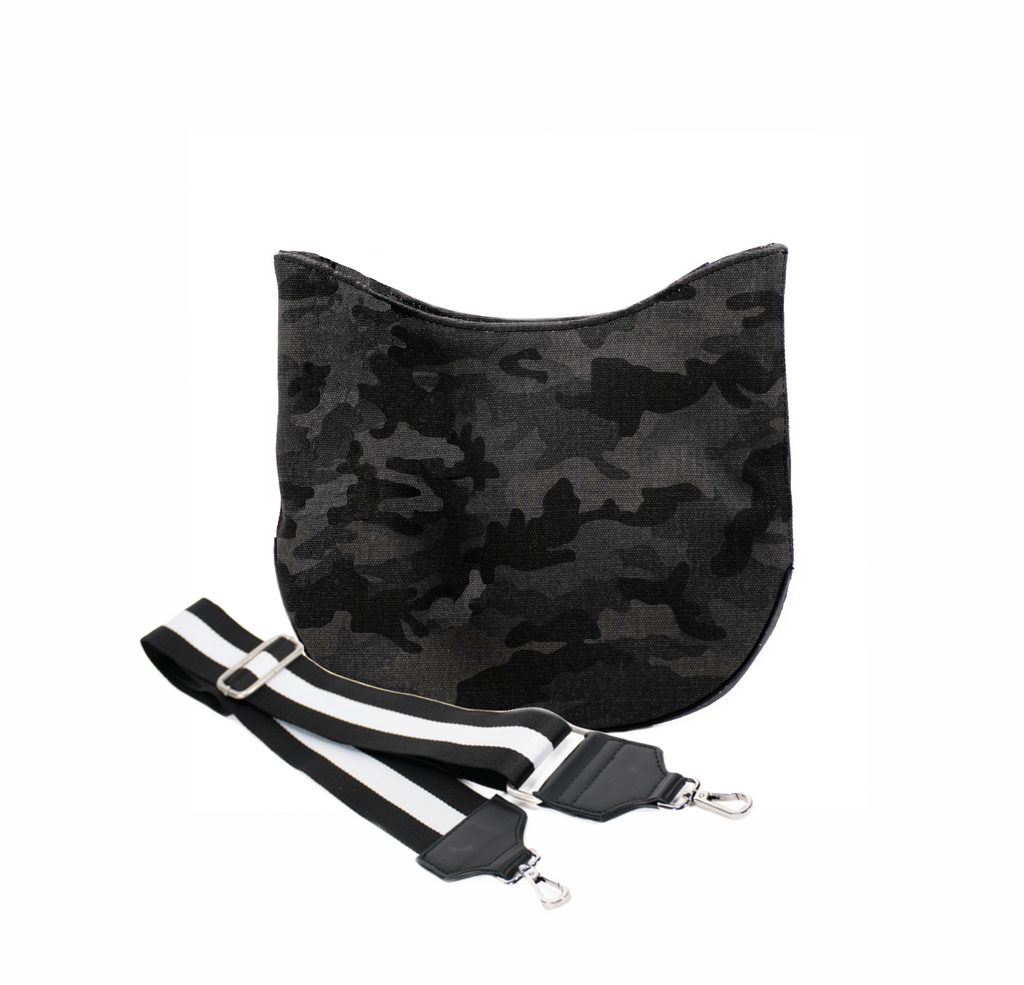 Mini City Bag: Black Camo