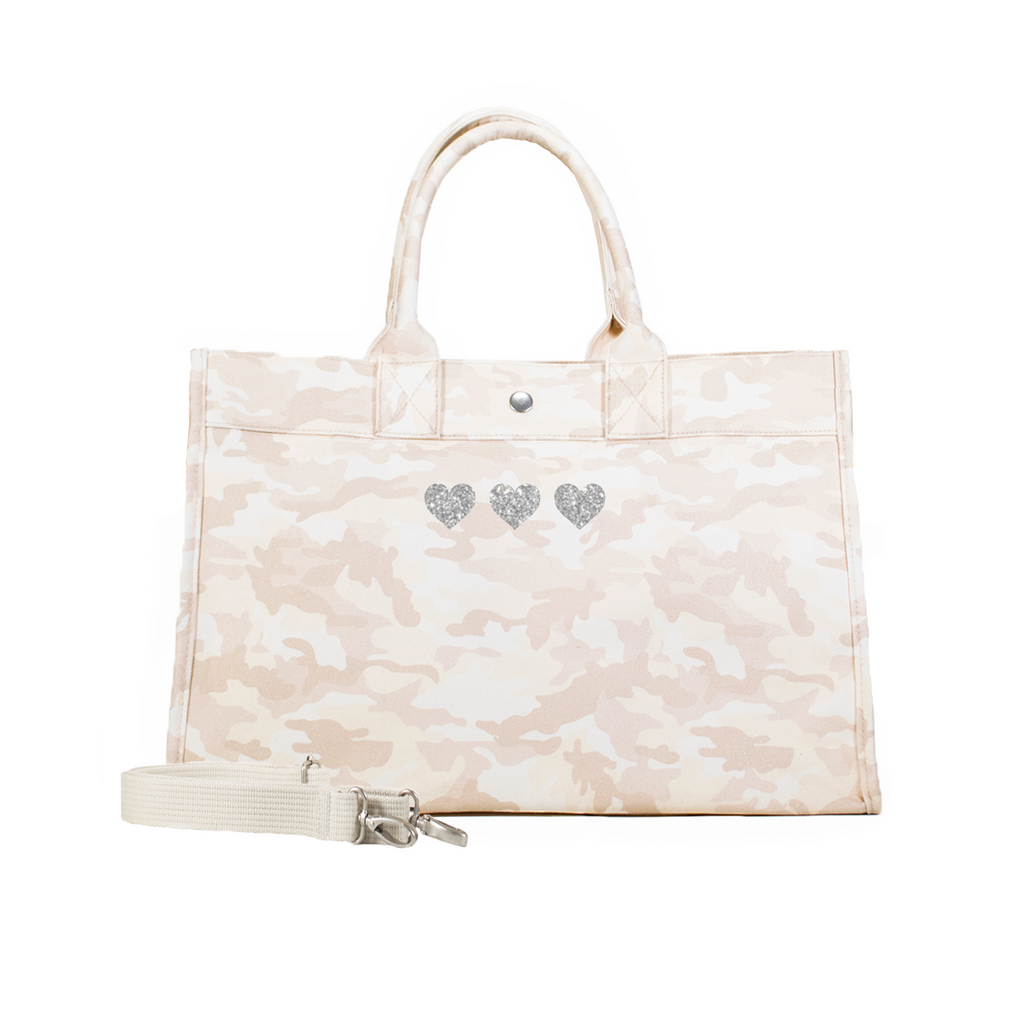 Mini Hearts: Midi East West Bag
