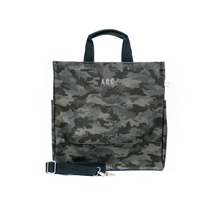 Mini Monogram Black Camo North South Bag