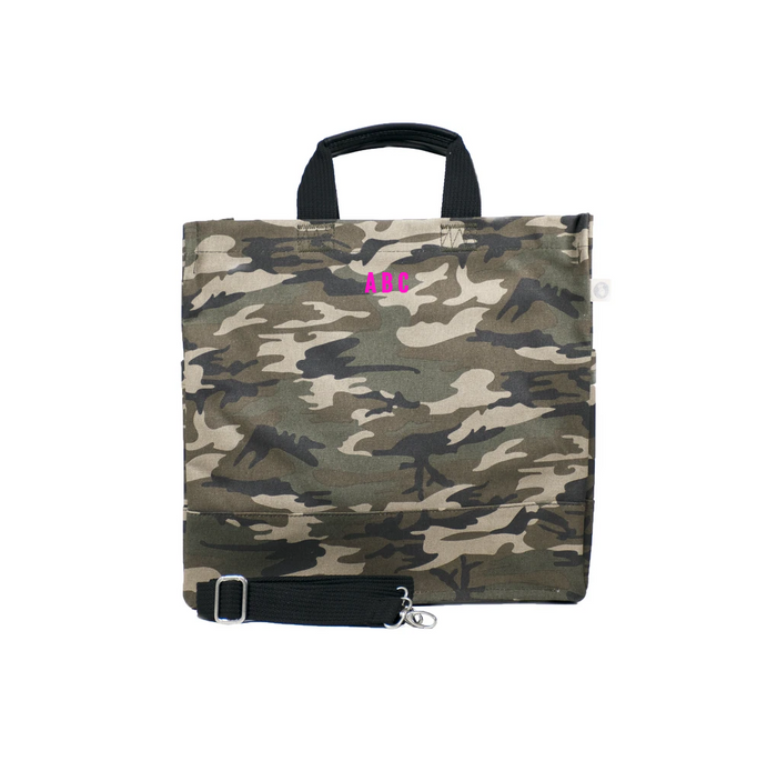 Mini Monogram Green Camo North South Bag