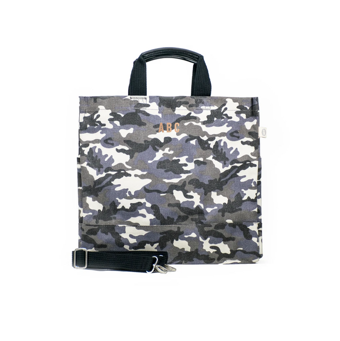 Mini Monogram Grey Camo North South Bag
