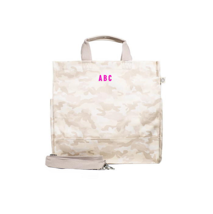 Mini Monogram Blush Camo North South Bag