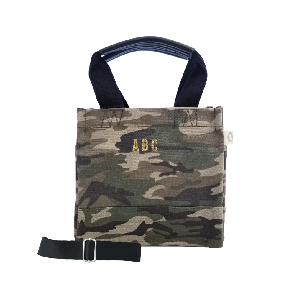 Mini Monogram Mini Luxe North South Bag: Green Camouflage