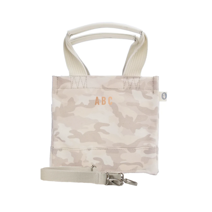 Mini Monogram Mini Luxe North South Bag: Blush Camouflage