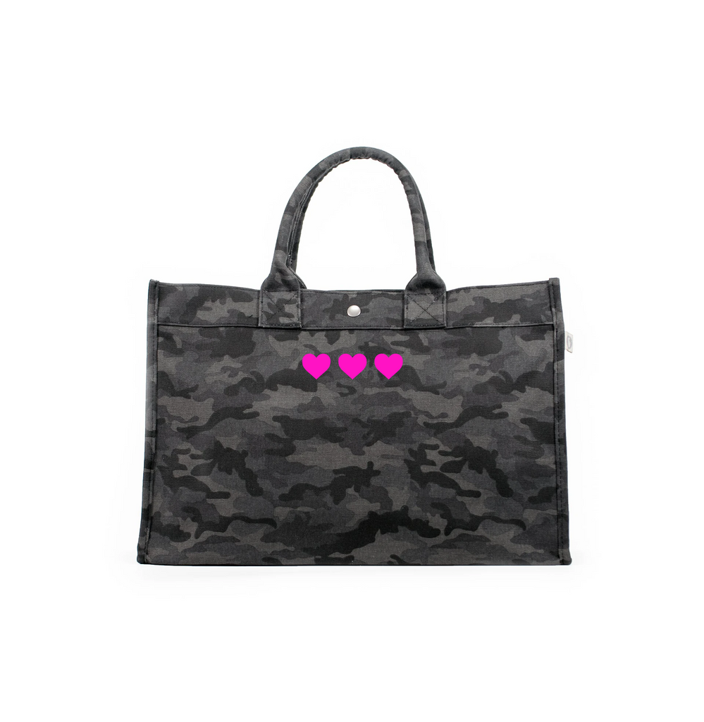 Mini Hearts: East West Bags
