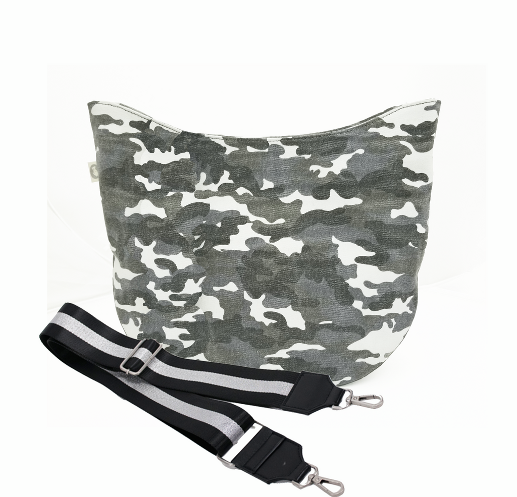 City Bag: Grey Camo
