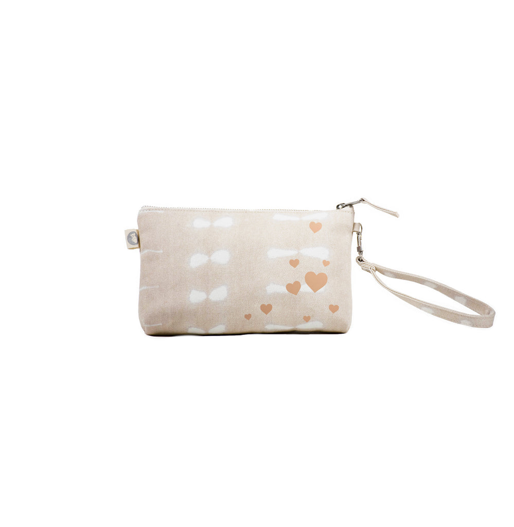 Scatter Hearts: Mini Luxe Clutches