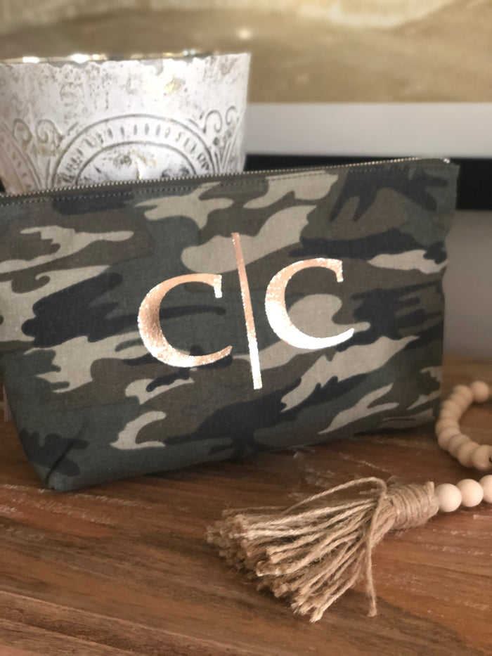 Split Letter Monogram Clutch Bag - perfect gifts for weddings, teachers!