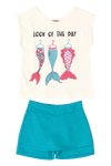 Mermaid Tail Top & Skort