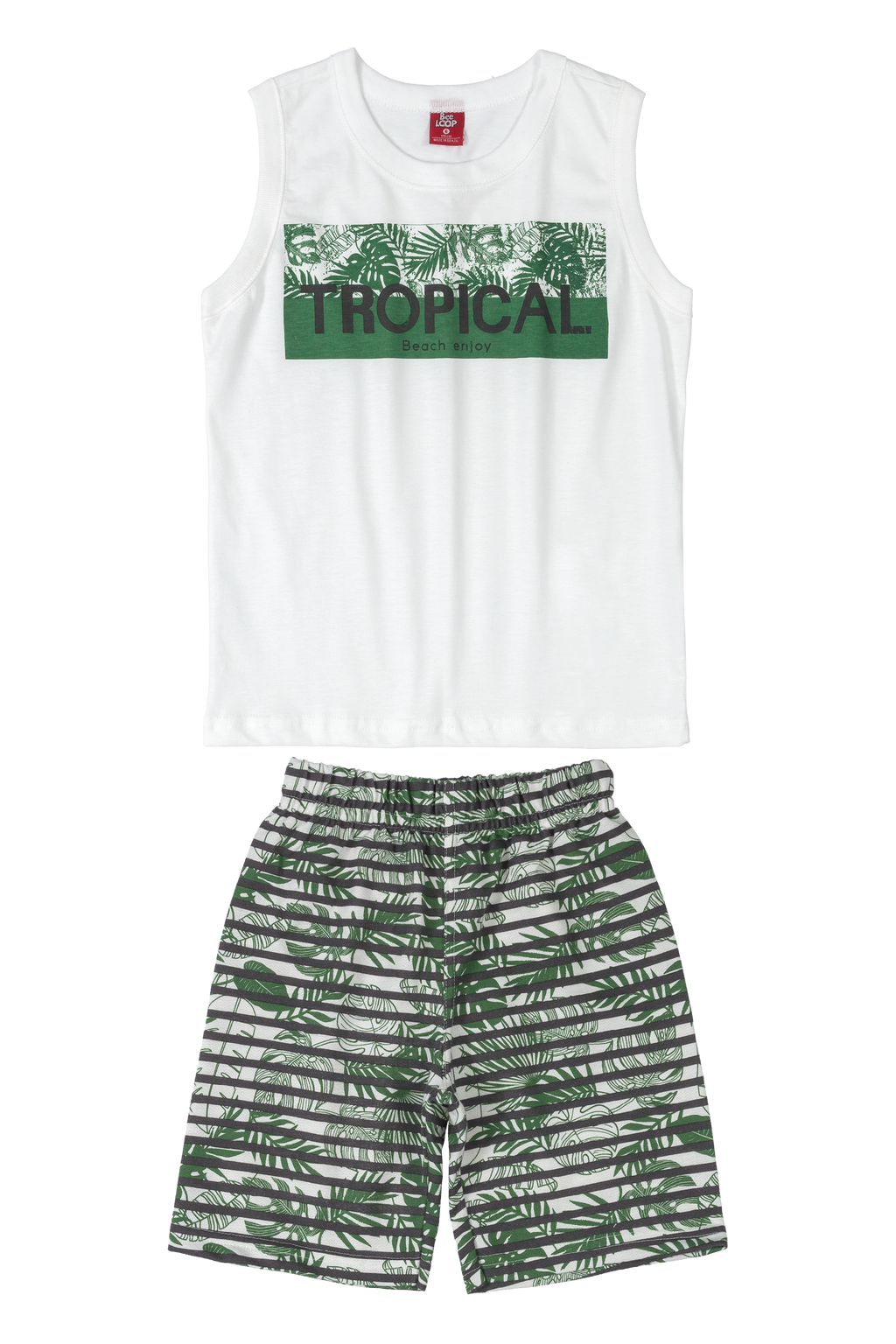 Tropical Tank & Shorts