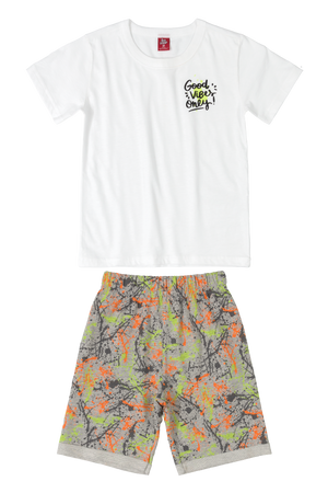 Good Vibes Tee & Shorts