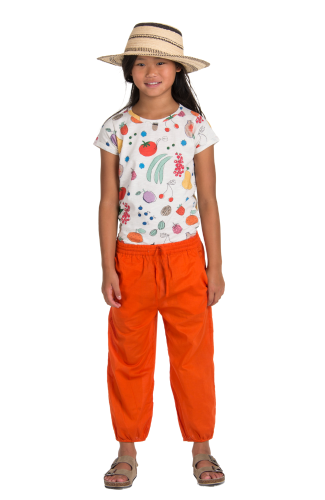 Fruits from the Garden Tee & Apple Pants