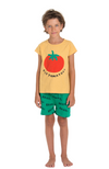 Eat Tomatoes Tee & Kikirikii Shorts