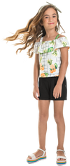Pineapple/ Peach Tank & Shorts