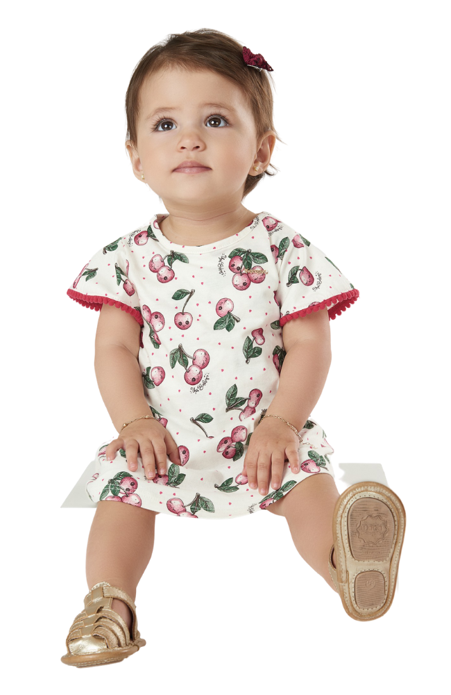 Cherries Dress Bodysuit