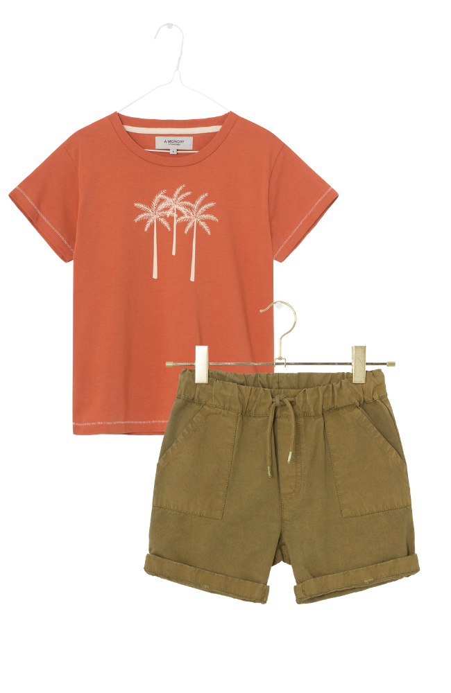 Palm T-Shirt & Morf Shorts
