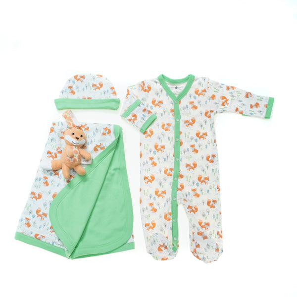 Arctic Fox Layette Set