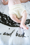 Moon & Back Organic Cotton Swaddle