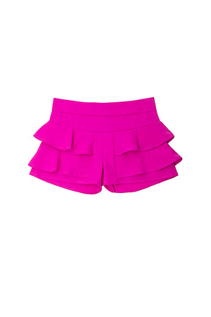 Cascade Top & Double Ruffle Short