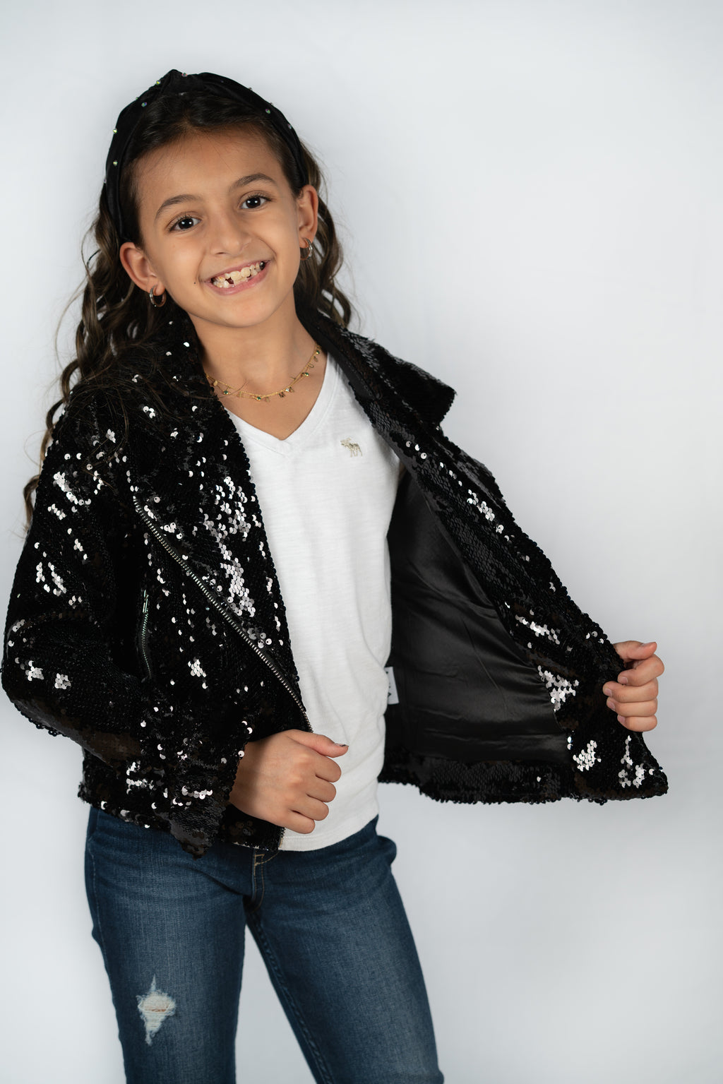 Sequin Motorcycle Jacket