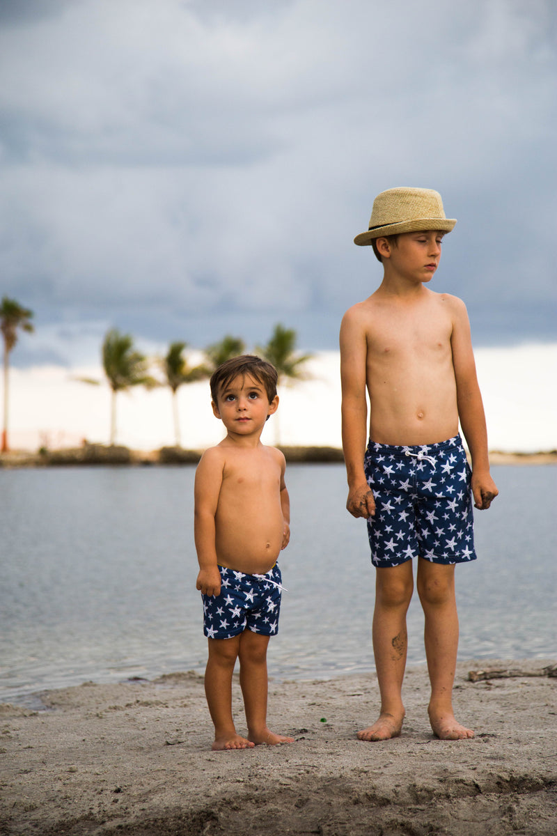 Midsummer Night Board Shorts Set