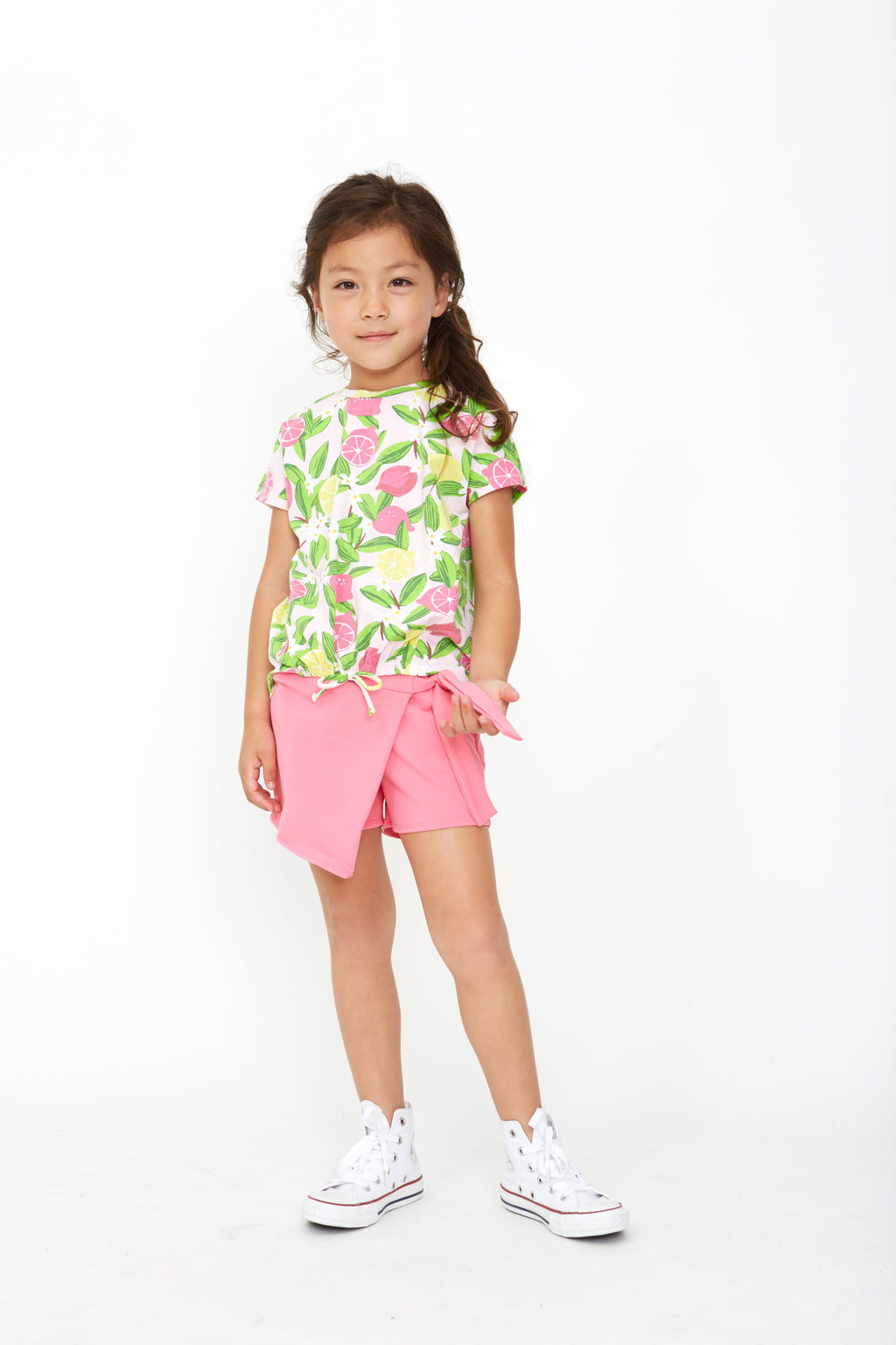 Emily Tee & Lilly Skort in Pink Lemonade