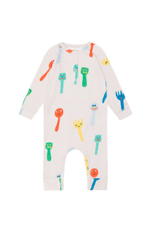Forks & Spoons Playsuit
