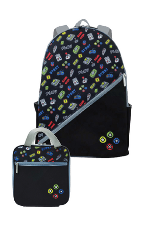 Game Backpack & Lunch Tote
