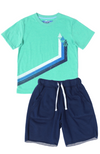 Green Acres Tee & Riverside Shorts