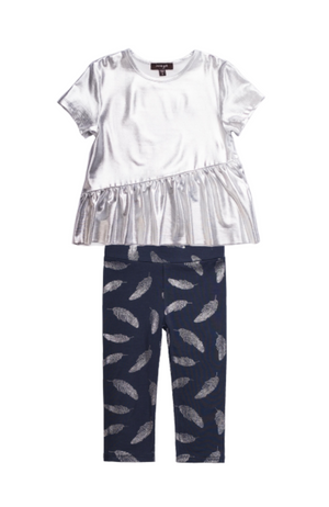 Andy Tee & Feather Leggings
