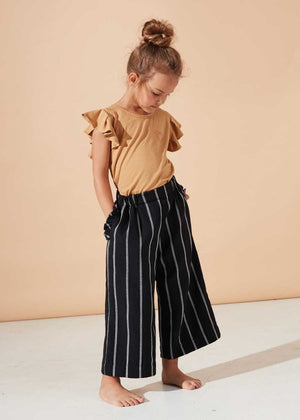 Morning Light Frill Blouse & Midnight Culottes