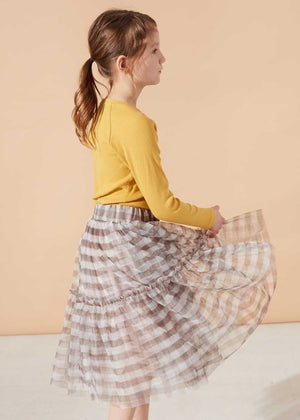 Sunglow Top & Moon Mist Tulle Skirt