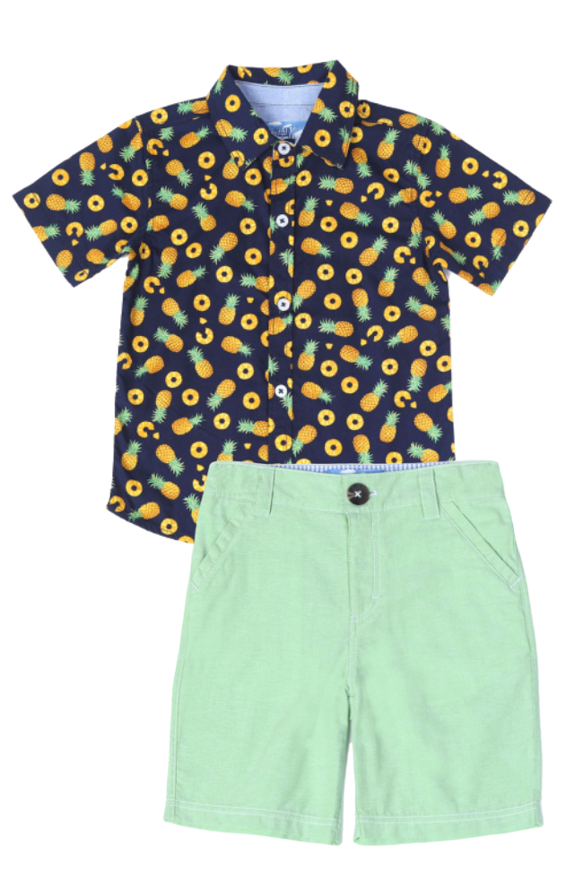 Pineapple Shirt & Groovy Shorts