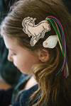Pink Unicorn & Cloud Clips