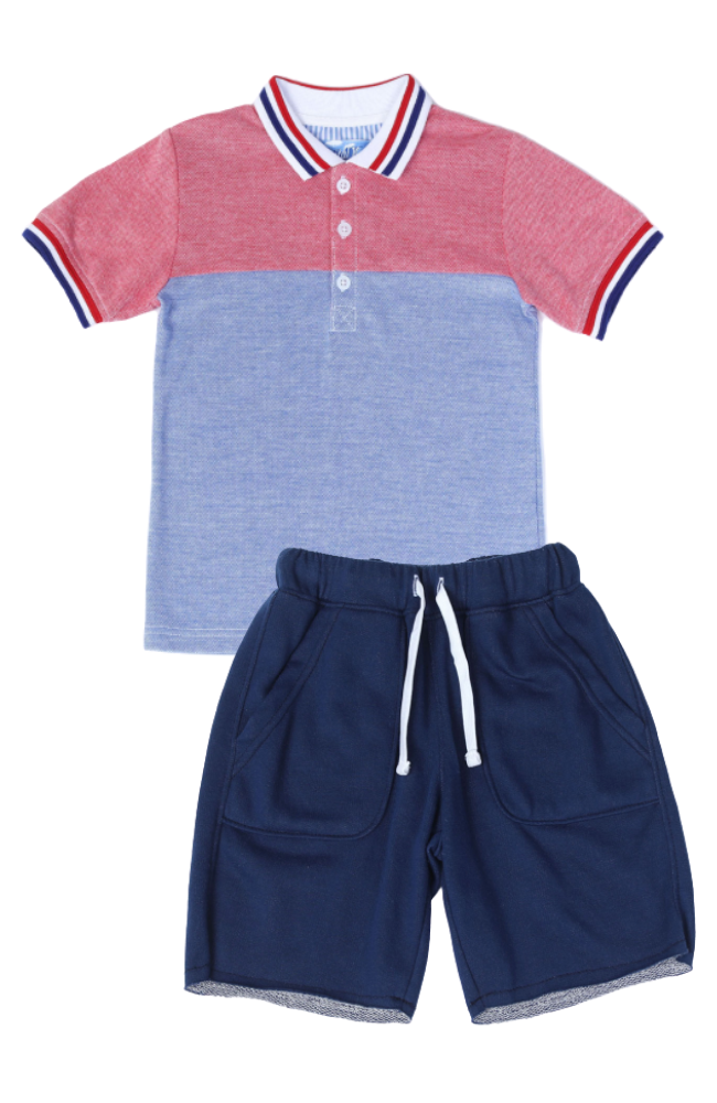 Pool Party Polo & Shorts
