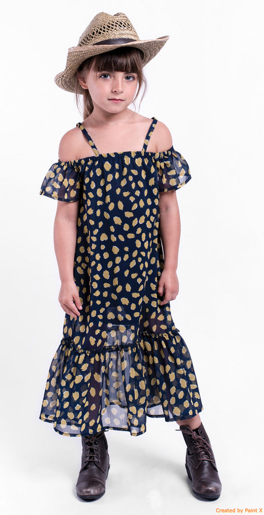Roselyn Dress in Marigold