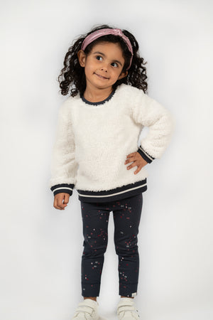 Sherpa Sweater & Leggings Set