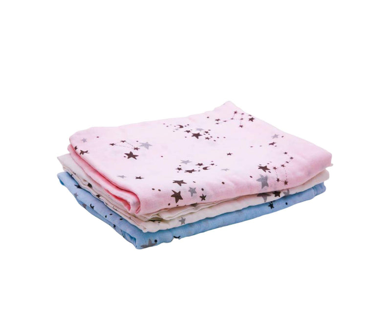 Space Cat Bamboo Swaddle